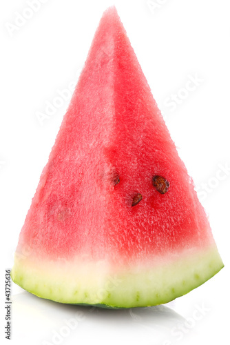 segment of juicy watermelon