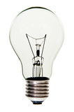Light Bulb isolated, with clipping path.