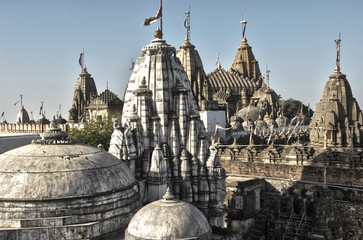 the temples of shatrunjaya, palitana, india