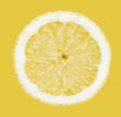Lemon on Yellow