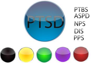 Button Set Persönlichkeitsstörungen