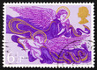 Postage stamp GB 1975 Angels with Lute and Harp, Christmas