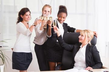 Ein erfolgreiches Frauenteam