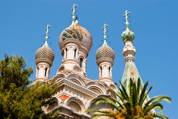 Russian Church detail, Sanremo, Italy