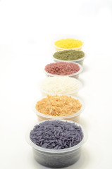 Thai colorful mixed rice