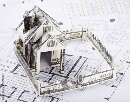 House of the money for the architectural plan