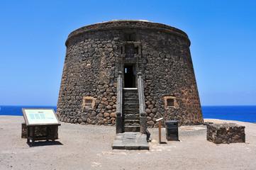 Torre del Toston in El Cotillo, Fuerteventura, Canary Islands, S