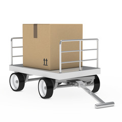 transport package trolley