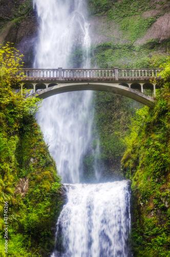 Fototapeten,wasserfall,natur,grün,strömen
