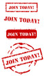 Join today stamp set