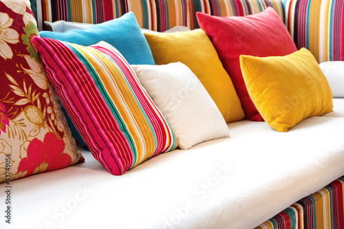 colorful pillow - 43749056