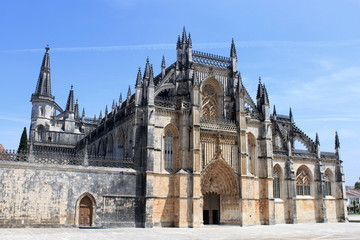 Monastery of Batalha in Portugal