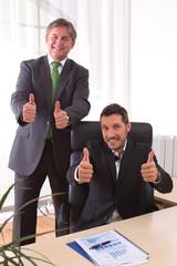 Erfolgreiche Männer - Junior und Senior