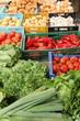 Einkauf am Gemüsestand