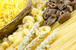 Spaghetti, macaroni and noodles