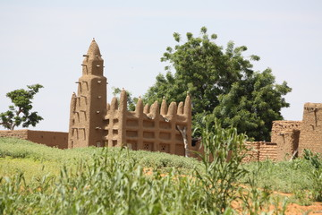 Mosque in Mali, Africa