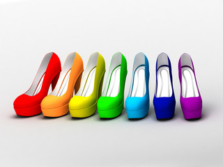 семь туфель_seven shoes