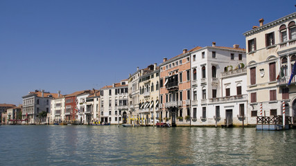 Houses on Grand Canal
