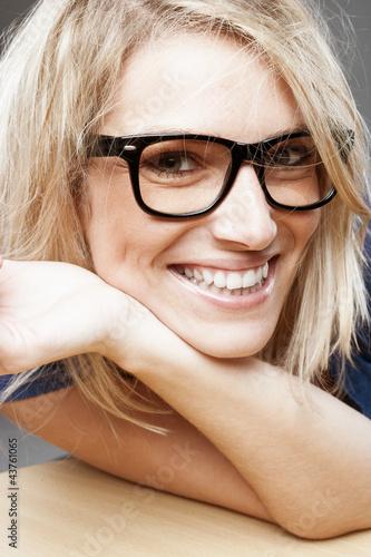 canvas print picture Gesicht einer schönen Frau