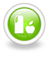 "Light Green Icon ""Grocery Store"""