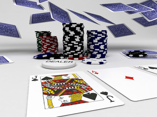 Texas Holdem Poker Azzardo Carte Giochi