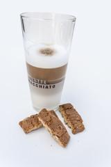 Latte & coffee cake - Cantuccini