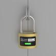 New generation of the lock on steel door