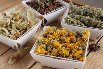 Plantes sèches pour la phytothérapie traditionnelle