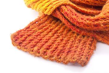 oranger Schal