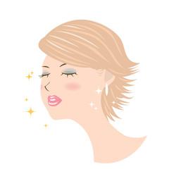 女性 顔 化粧