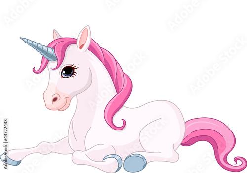 Poster Pony Adorable Unicorn