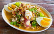 betal nut seafood and chili salad delicious thai food