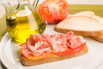 Catalana  bread