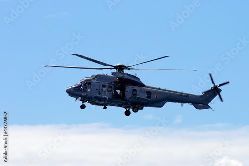 Poster Hélicoptère Caïman