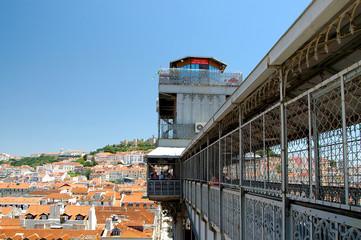Elevador de Santa Justa: Aufzug in Lissabon