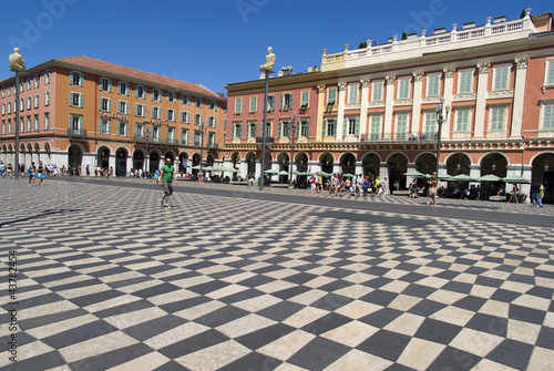 Central Square - Place Massena in Nice, France