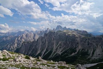 Dolomites, landscape near peaks of Lavaredo