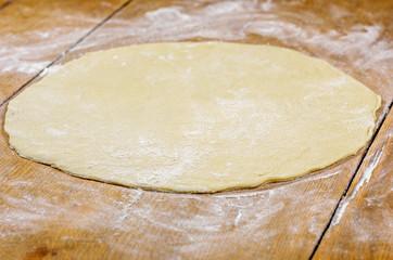 roher Pizzaboden ohne Belag