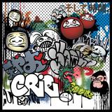 Fototapety graffiti urban art elements