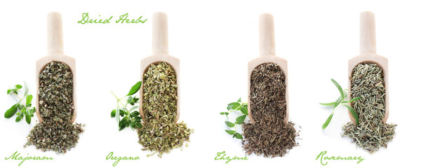 Set of Dried Herbs
