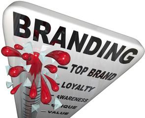 Branding Thermometer Measure Brand Loyalty Identity