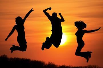 Jubeln - Springen - Freiheit