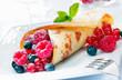 Scrumptious golden berry pancake