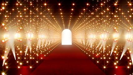 Red Carpet festival scene animation 13