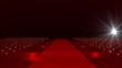 Red Carpet festival scene animation 07