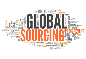 "Word Cloud ""Global Sourcing"""