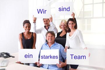 Wir sind ein starkes Team