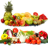 Fototapety fruit and vegetables