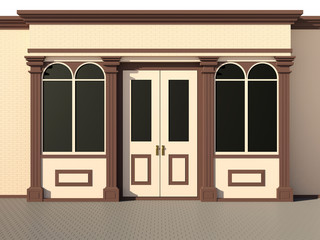 Shop front - classic store front