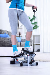 Home stepper trainer